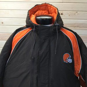 Logo Athletic 2XL Cleveland Brown Jacket